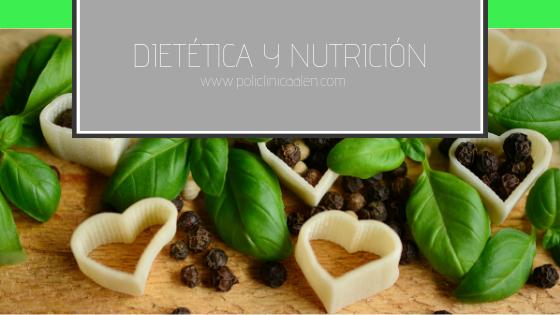 Dietética y Nutrición.